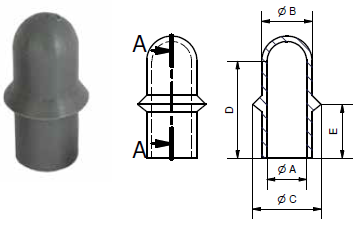 SLEEVE WITH FLANGE