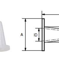 CONICAL FLANGE PLUG